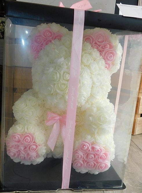 Foam Rose Bear