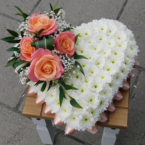 Peach Passion Heart Tribute