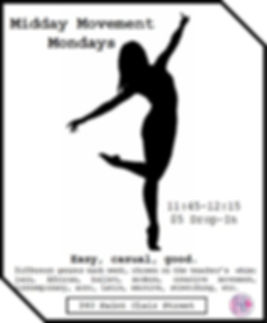 midday movement mondays with description