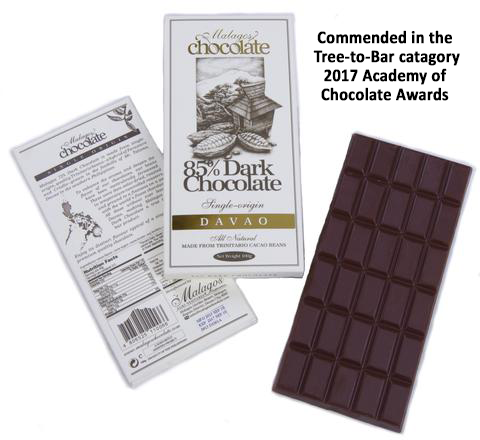 Malagos Chocolate 85% Davao, The Phillipines