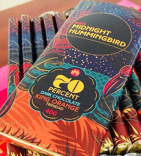 Gina's Midnight Hummingbird 70% with King Orange, Trinidad