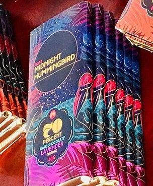 Gina's Midnight Hummingbird 70% with Lavender, Trinidad