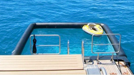 Swimsafe Sea Pool for boats in new zealand