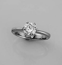 6 claw engagement ring