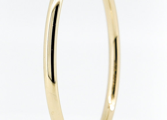 9ct Silver filled Solid Bangle