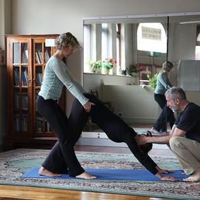 Manual Guidance in Yoga Classes