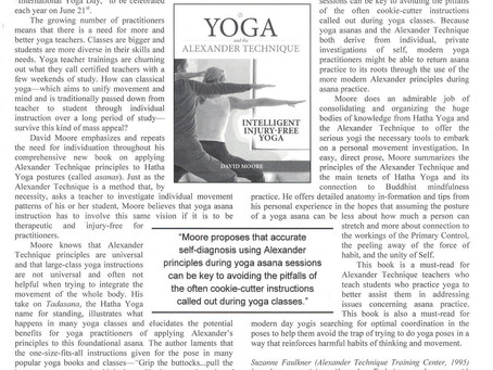 Book Review: Yoga & The Alexander Technique by David Moore