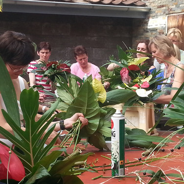 Workshop, lunch en Vlindorado