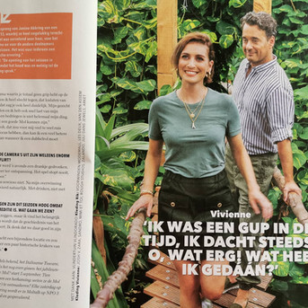 Veronica the Guide met Rik en Vivienne