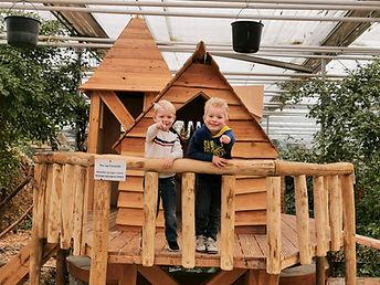 1. Speelhuis in Vlindertuin Vlindorado v