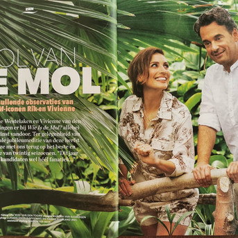 Veronica the Guide Rik en Vivienne fotoshooten