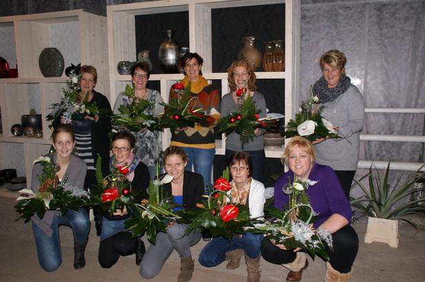 workshop Dekker Anthuriums kerstworkshop