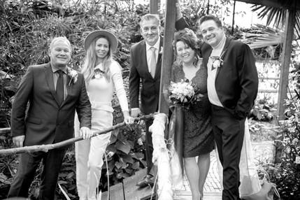 Bruiloft Danielle en René in Vlindorado
