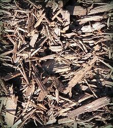 Brown Wood Mulch
