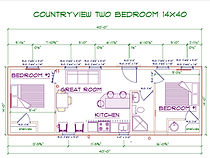 14x40 Countryview Cabin