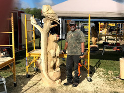 4P Carving Festival Pine Falls Manitoba
