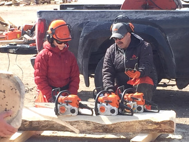 Safe chainsaw operation