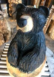 chainsaw carve bear