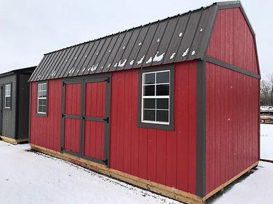 Premier Side Lofted Barn