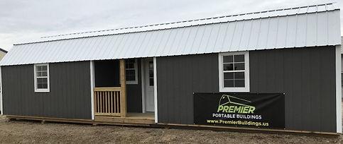 Premier Center Lofted Cabin