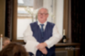 Father Speech Edinburgh Wedding Photographer