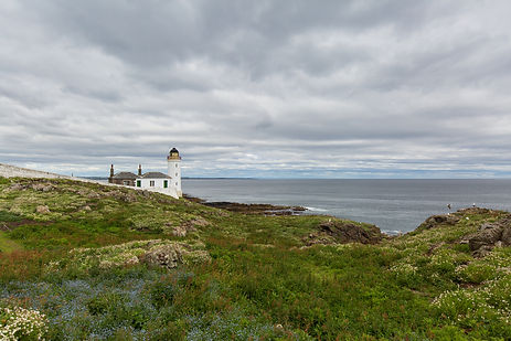 Lighthouse with seaview