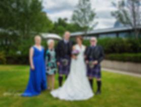 wedding family group shot