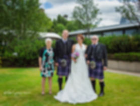 wedding family group photo