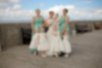 Bride and Bridesmaids Kate Stevenson Photography