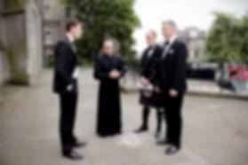 Groomsmen & Minister Kate Stevenson Photography