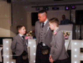 groom and pageboys