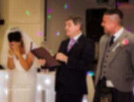 wedding ceremony with humanist