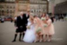 Bridal Party Edinburgh Wedding PHotographer