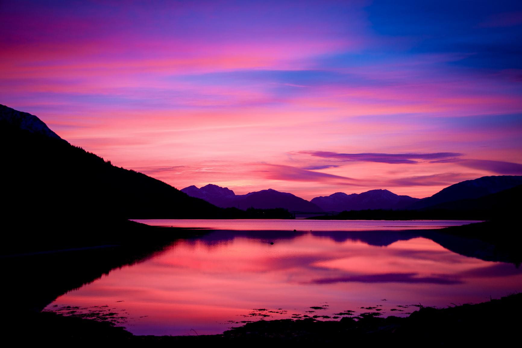 Loch-Leven-sunset