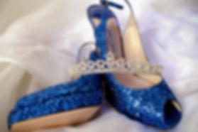 Brides shoes Kate Stevenson Photography