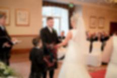 Bride & Groom Confetti Edinburgh Wedding Photographer