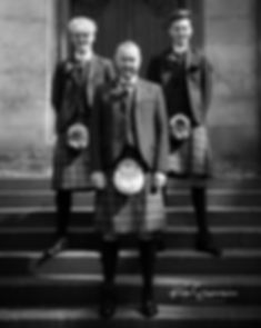 Groom and Bestmen Edinburgh Wedding Photographer
