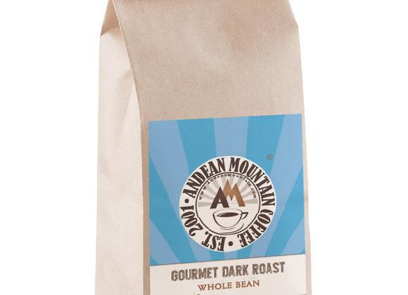 1 lb. Gourmet Dark Roast Whole Bean Coffee