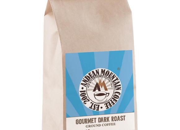 1 lb. Gourmet Dark Roast Ground Coffee