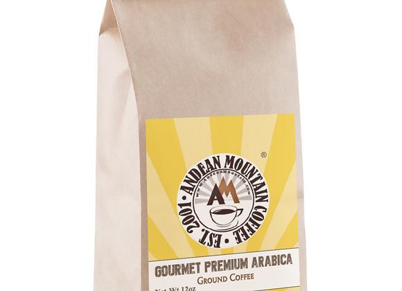 12 oz. Gourmet Premium Arabica Ground Coffee