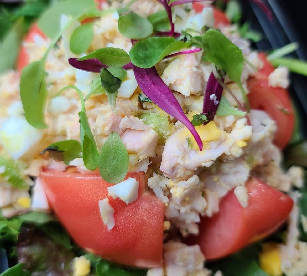 Tomato Chicken Salad