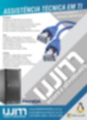 Panfleto WM Servidores - Assistência técnica em TI