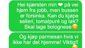 SMS - Husk parmesan! - A2/B1