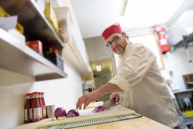 Longueuil Photo studio portrait cuisinier