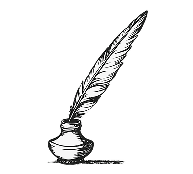 9-96981_feather-clipart-pen-and-ink-tran
