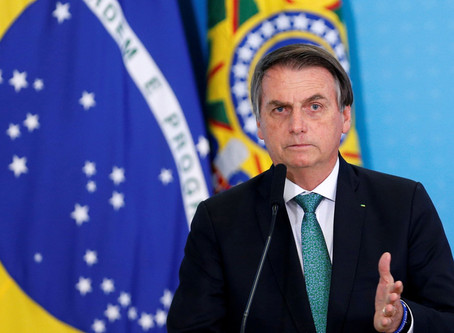 President Bolsonaro of Brazil says it's just a 'little flu'|Tetra Teqnix