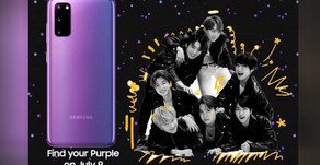 Samsung has officially teased the arrival of a BTS edition Samsung s20+