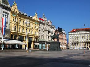 Weg nach Zagreb