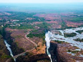 Heliflug zu den Victoria Falls