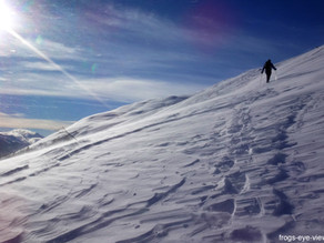 Schneetour Ulrichen Hausberg